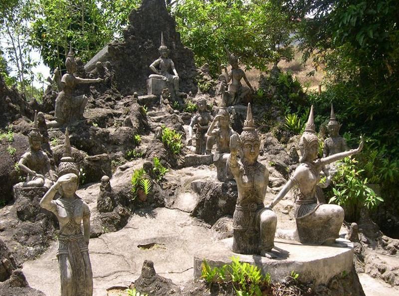 Магический сад Будд