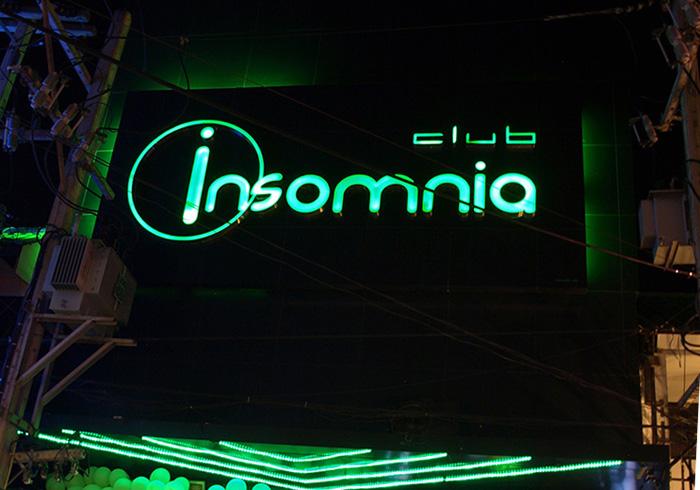 Вход в клуб Insomnia