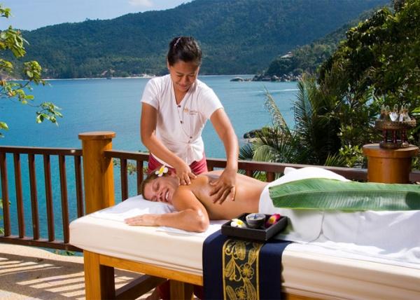 Лечащий тайский массаж