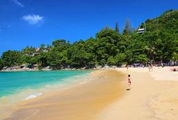 Один из центральных пляжей