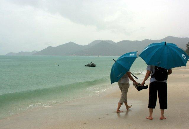 В июне в Таиланде обычно дождливо
