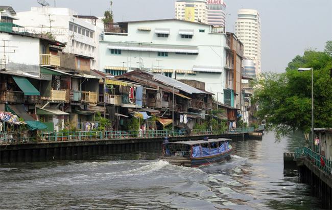Один из каналов Бангкока