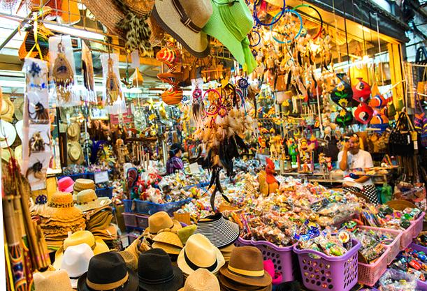 Рынок выходного дня на Пхукете