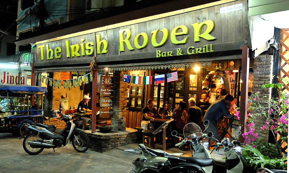 Бар The Irish Rover