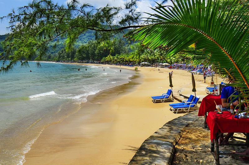 Пляж Камала на острове Пхукет