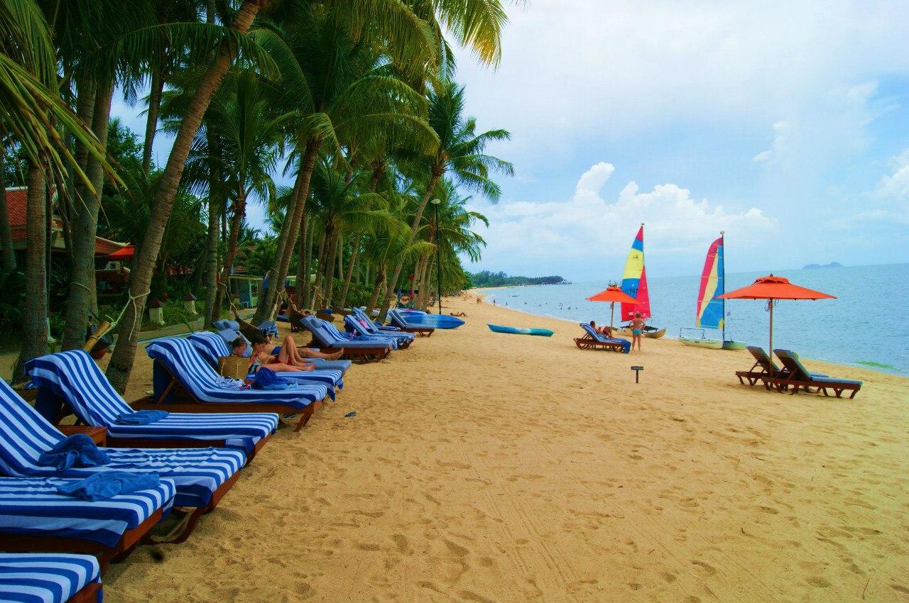 Пляж Менам (Maenam)