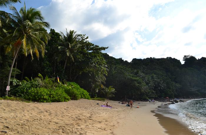 Пляж Найтон на острове Пхукет