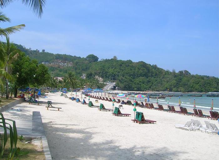 Пляж Патонг острова Пхукет