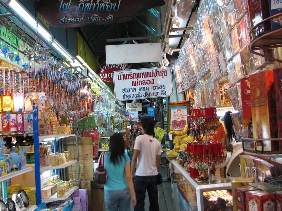 На рынках Бангкока всегда есть выбор
