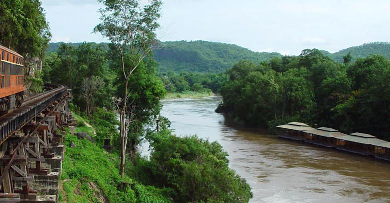 Вид на реку Квай