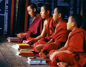 Монахи Таиланда